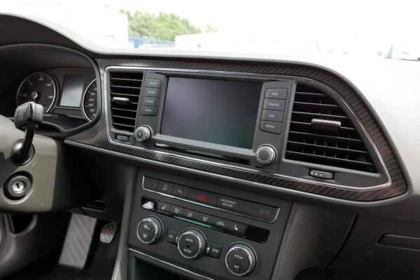 Seat Leon 5F Carbon Blende Dekorleiste | Seat Leon 5F Facelift ...