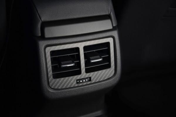 Seat Carbon Blende Lüftung hinten - Leon 5F, Facelift, Ateca