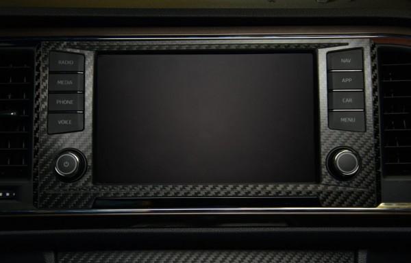Seat Ateca Carbon Blende Navigationsystem