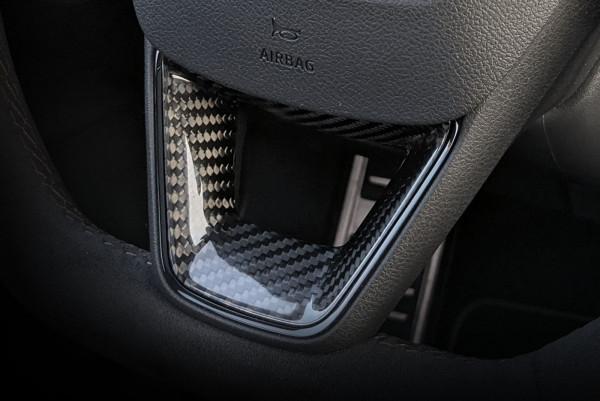 Seat Carbon Blende Lenkradspange