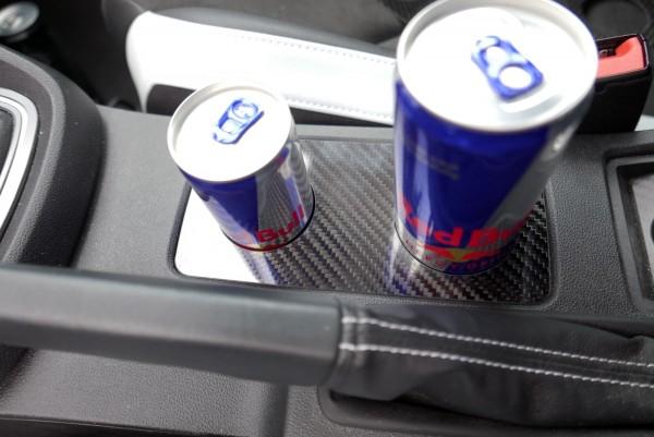 Seat Leon 5F Carbon Blende Becherhalter für Getränkedosen