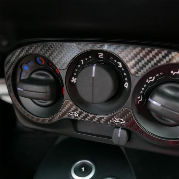 Alfa Romeo 4c Carbon Blende Klimabedienteil