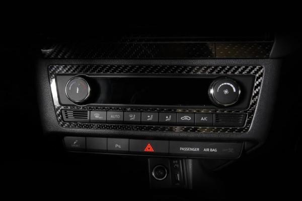Seat Ibiza 6P Carbon Blende Klimabedienelement