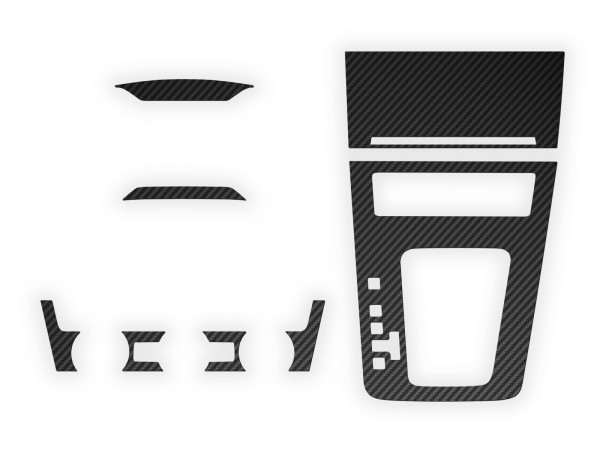 Skoda Octavia III Set - Set-Taste + Klimabedienteil + Mittelkonsole